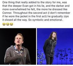Dear Evan Hansen (Oh my gosh he was going through the pain Connor was probably feeling I am D E A D)