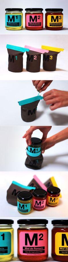 Miel² Honey Packaging