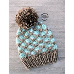 The Regan Beanie is knitted from the bottom up. This quick knit combines slip stitches with 2 colors to create a unique & beautiful beanie. Circular Knitting Needles, Arm Knitting, Knitting Ideas, Christmas Knitting Patterns, Knit Patterns, Knit Crochet, Crochet Hats, Quick Knits, Paintbox Yarn