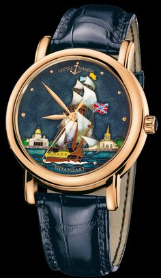 136-11/SHT • San Marco Cloisonné • Limited Editions • Welcome to the Ulysse Nardin collection • main•Ulysse Nardin•Le Locle•Suisse•Swiss Mechanical Watch Manufacturer