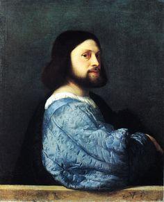 Tiziano Vecellio - Ritratto virile, forse l'Ariosto - 1510-1513