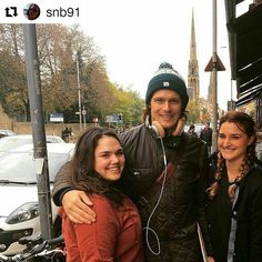 #Repost @snb91 with @repostapp ・・・ Well this happened today… #outlander #freakingout #soflustered #samheughan #jamiefraser #outlander
