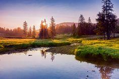 Entlebuch UNESCO Biosphäre - Die Schätze der Natur - Das Entlebuch ist nicht nur das grösste, sondern auch das schönste Buch im ganzen Kanton, heisst es in Luzern. Tatsächlich. Wie ein grünes Meer funkelt das Haupttal der Kleinen Emme in der Morgensonne. Moore, Weiden und Wälder schlagen sanfte Wellen im Schatten der majestätischen Gebirgsstöcke der Emmentaler Alpen.