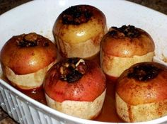 Old Fashioned Baked Apples...I need to make these for Steve