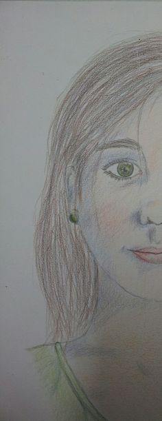 Zelfportret half