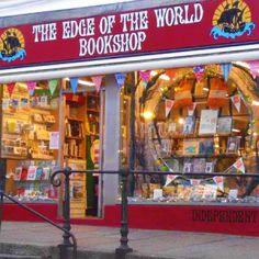 Edge of the World Bookshop. Sells lots of books and if they don't have it they will get it for you.