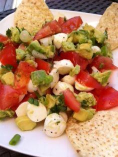 Spreading Good Tastes: Insalata Guacamole