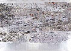 Mark Bradford, Mississippi Gottdam (2007): Albright-Knox Art Gallery
