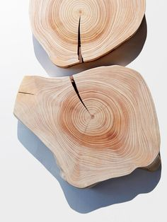 Round Cedar Wood Cutting Board by Cliff Spencer