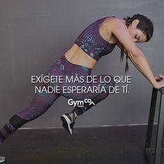 Da lo mejor de ti ¡Te sorprenderás de lo que eres capaz! :) #gymco #hechoenmexico #soygymcowomen #soymcoeveryday #recompensa #tips #frases #frasesmotivacionales #frasespositivas #esfuerzo #motivacion