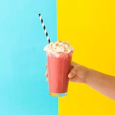 We Made a Red Velvet Iced Coffee With Cream-Cheese Whipped Cream and It's Delicious | Brit + Co