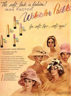 Vintage Meets Modern: A Classic Lifestyle New Look - Popular Vintage Vintage Makeup Ads, Retro Makeup, Vintage Vanity, Vintage Beauty, Vintage Ads, Vintage Fashion, Retro Advertising, Retro Ads, Vintage Advertisements