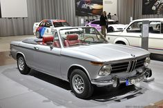 BMW 2002 Cabrio, pre-'73 euro bumper and flush turn signals w/ Turbo wheels