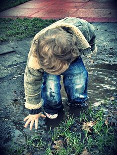 will definitely need to do a mud puddle photo shoot with the kids this spring!
