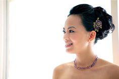 Sarah from JLS: Makeup only Photographer: Karleen Su