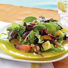 Mixed Citrus Green Salad | MyRecipes.com #myplate #vegetable #fruit