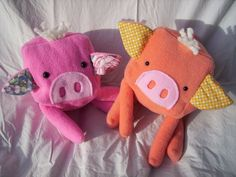 Cute toys for kids Cubimal Pig Happy Children, Baby Mouse, Cute Toys, Chile, Kids Toys, Dinosaur Stuffed Animal, Plush, Gift Ideas, How To Make