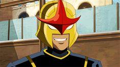 ultimate spiderman sam alexander   Nova : Sam Alexander, Intergalactic Police Officer.