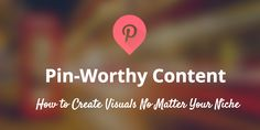 How can any brand - visual or not - create Pinnable content for visitors to Pin?  7 strategies that can help right away #socialmedia #pinterest - more info on www.facebook.com/EssencetoSuccess