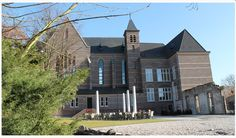 Munstergeleen, brasserie Abshoven; mooie locatie in kerk.