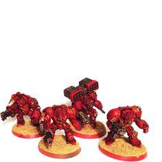 Warhammer 40k blood angels terminator squad wh40k