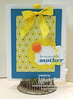 The Yellow House Designs: Stamping 411 Sketch Challenge #246