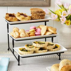 Food Platters, Serving Platters, Diy Bakery Display, Mothers Day Brunch, Better Homes And Gardens, Food Presentation, High Tea, Catering, Food And Drink