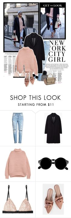 """""""Stay Warm"""" by solespejismo on Polyvore featuring H&M, Inverni, The Row, Retrò and Fleur du Mal"""
