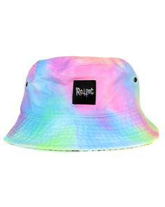 Pastel tie dye bucket hat at shopjeen.com !