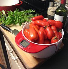 Garden-Fresh San Marzano Tomato Sauce  - try without blending.  Similar to Jackie Stankey's.