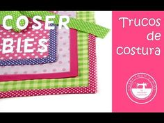 """El blog de """"Coser fácil y más by Menudo numerito"""" - Costura creativa: Truco de costura: Cómo coser el bies perfecto"""