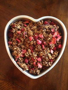 Brooke's LOVE Crunch  gluten free, nut free  great gift idea for Valentine's Day!