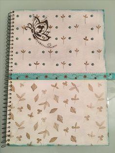 Cuaderno alterado para Amiga.