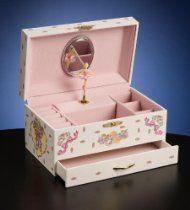Ballerina - Musical Jewelry Box