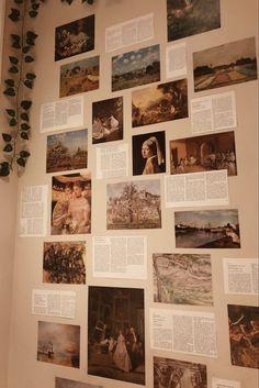 Room Design Bedroom, Room Ideas Bedroom, Bedroom Decor, Room Goals, Aesthetic Room Decor, Dream Rooms, Wall Collage, Aesthetic Wallpapers, Room Inspiration