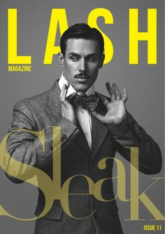 (September 2012, France) Sam Sparro gracing the cover of 'Lash' magazine | Source: Lash magazine