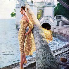 dress by ben reig 1956