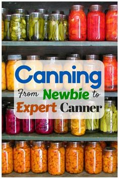 is a safe and effective way to prolong the life of food stuffs. It also adds a delicious twist in taste of common food.Canning is a safe and effective way to prolong the life of food stuffs. It also adds a delicious twist in taste of common food. Home Canning Recipes, Canning Tips, Pressure Canning Recipes, Canning Food Preservation, Preserving Food, Canning Vegetables, Veggies, Conservation, Water Bath Canning