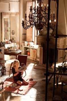 """""""eat pray love"""" was so much better when i was reading it... still, a wonderful space right there!"""