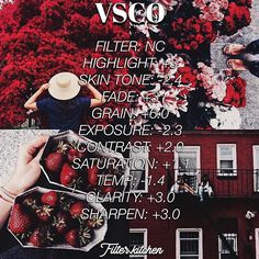 Perfect for red feeds Vsco Filter, Vsco Cam Filters, Instagram Theme Vsco, Feeds Instagram, Photography Filters, Photography Editing, Feed Insta, Fotografia Vsco, Vsco Hacks