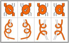 Normal Friendship Bracelet Knot Instructions