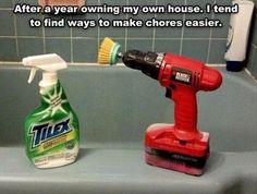 laziness or genius? <3 it!