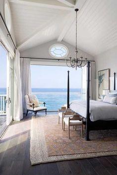 Oceanfront views from your bedroom.