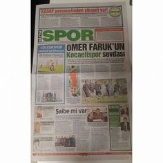 Bizim Kocaeli Spor'da bugün... (07.11.14) #bizimkocaeli #gazete #manşet #spor #bugün #izmit #kocaeli