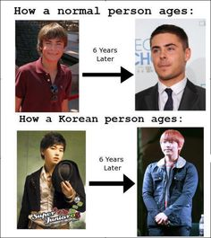 How Koreans age...I swear they're Vampires!! It's been a year since that pic and Sungmin looks even younger now!