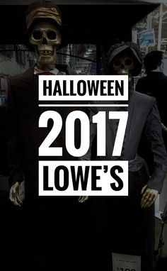 Home improvement stores have really stepped up their game in the Halloween area these past few years. I've been pretty impressed, and Lowe's has a really nice assortment of yard decorations …