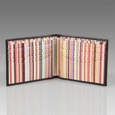 Paul Smith Wallet - Interior Signature Stripe Billfold Wallet £119.00