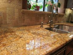 Check out this awesome kitchen granite countertop
