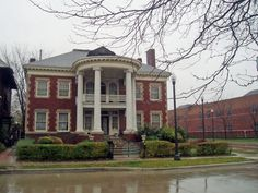 Joseph F. Weber Home  206 Eliot (near the intersection of Eliot and John R. Rd.)  Brush Park, Detroit  #Detroit