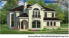 The Keeton Park - luxury house Plan